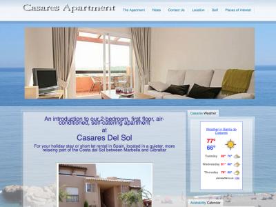 CasaresApartment.com Spain