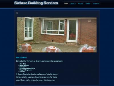 sichere-building-services.co.uk
