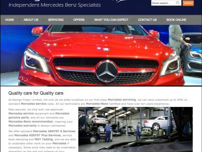 GeorgeFraser.com Mercedes-Benz
